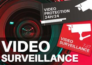 Législation et réglementation panneau vidéo surveillance
