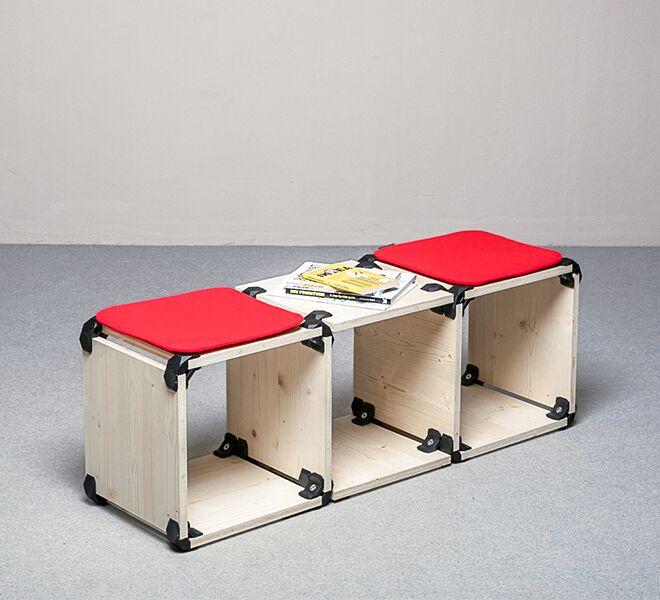 banc playwood meuble à assembler soi même